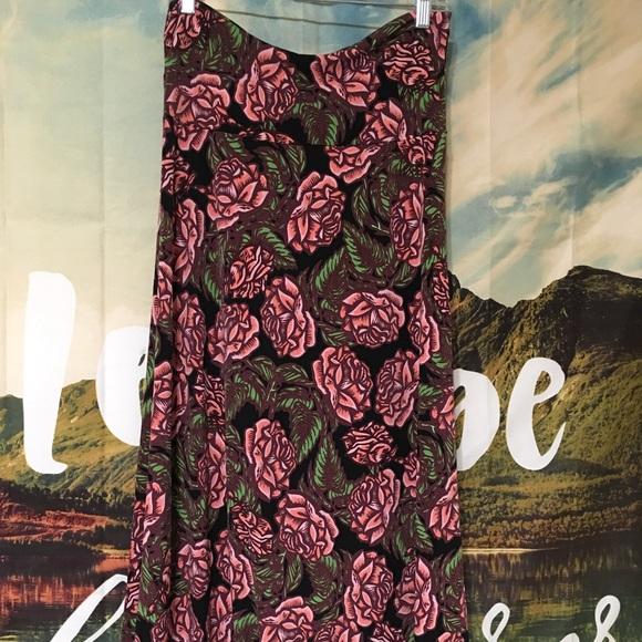 LuLaRoe Dresses & Skirts - 💥Price Firm💥Lularoe Floral Maxi Skirt